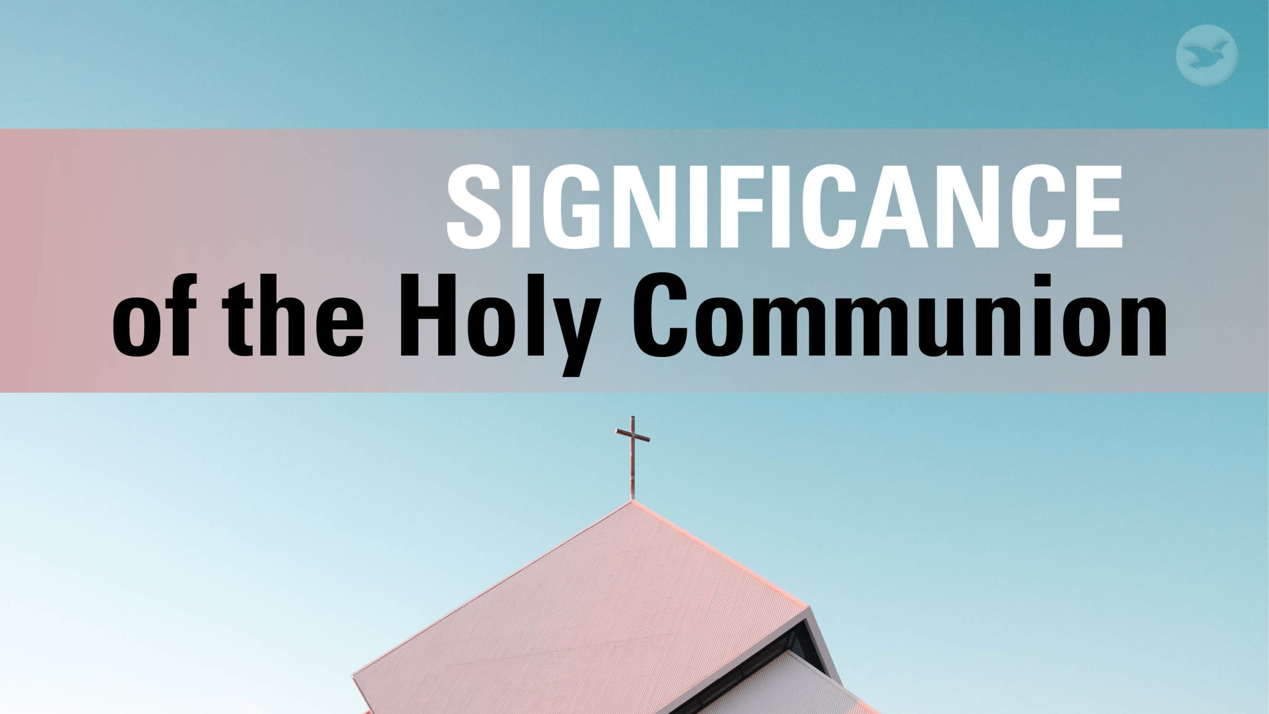 The Holy Communion is rooted in the death of our Lord Jesus. In partaking of the Holy Communion, we remember the Lord Jesus and proclaim His death. It is a sacred occasion observed in a worthy manner.